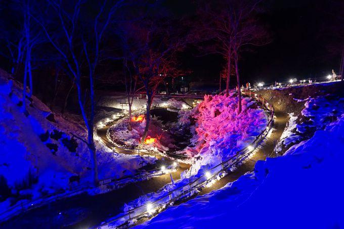 秩父の冬の風物詩「秩父路三大氷柱めぐり」で温泉半額!