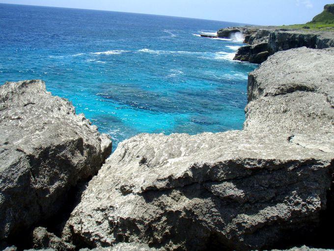 ロタ島には色々な海がある