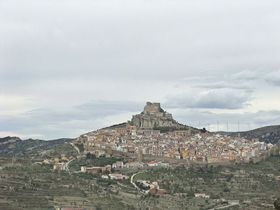 スペインの荒野に浮かぶ城塞都市!「モレーリャ」