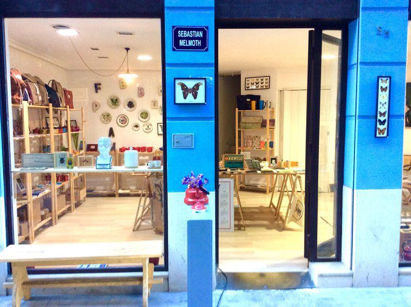 バレンシアNo.1のシックな雑貨屋「セバスチャン・メルモス」