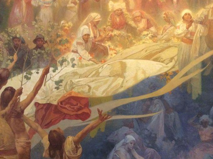 芸術家ミュシャが歴史と向き合った大作