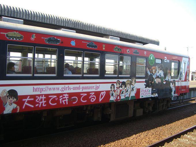 アニメ「ガールズ&パンツァー」聖地巡礼! in 茨城県大洗町