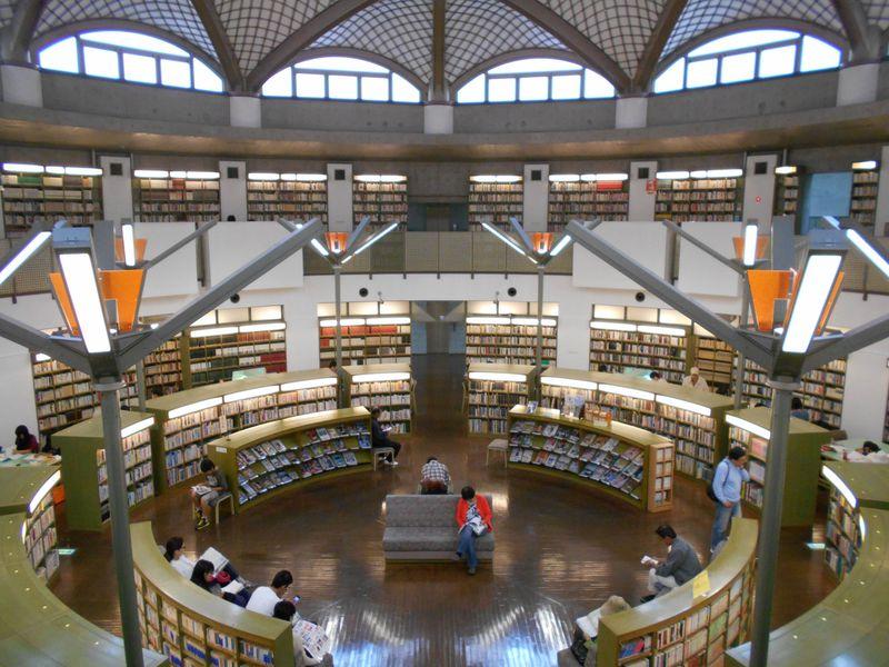 映画『図書館戦争』のロケ地!水戸市立西部図書館