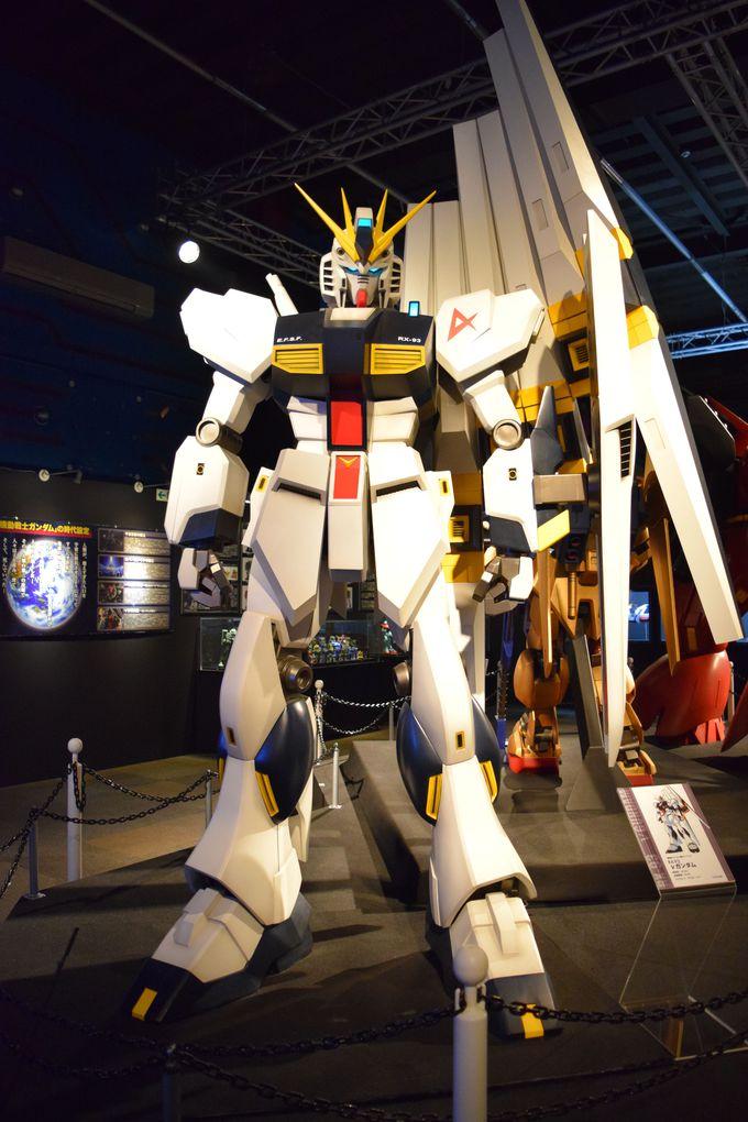 1/10スケールのモビルスーツ「RX-93 νガンダム」!