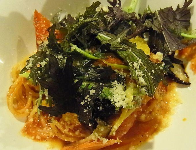 地元の野菜をたっぷり使ったイタリアン料理で元気になる!