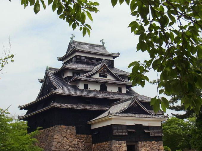 歴史が詰まった国宝「松江城」に現れたハートマーク