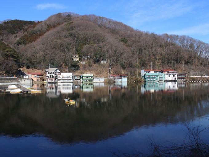 ワカサギ釣りで人気の円良田湖へ