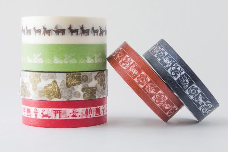 中川政七商店のマスキングテープ