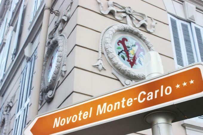 モンテカルロ駅へのアクセス、良好!