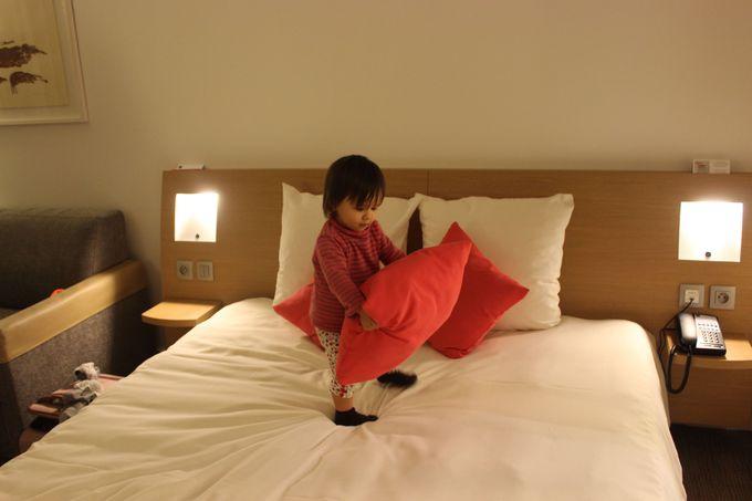 ビジネスにも、家族連れにも優しいホテル。