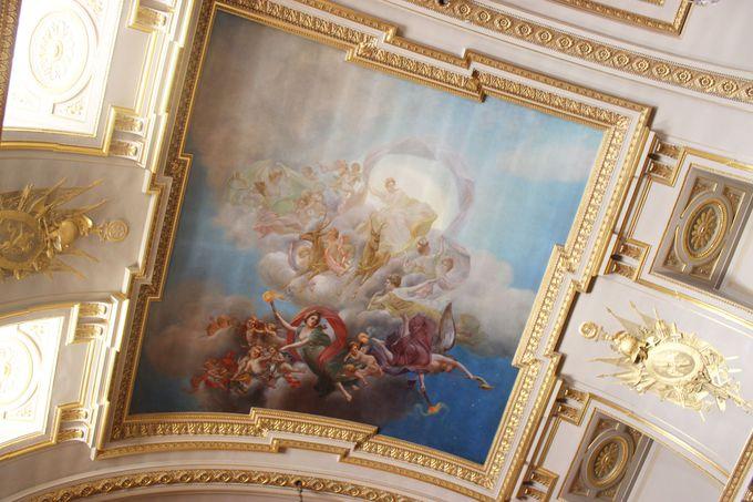 理想的な迎賓会場と言われる「グランド・ホール」。