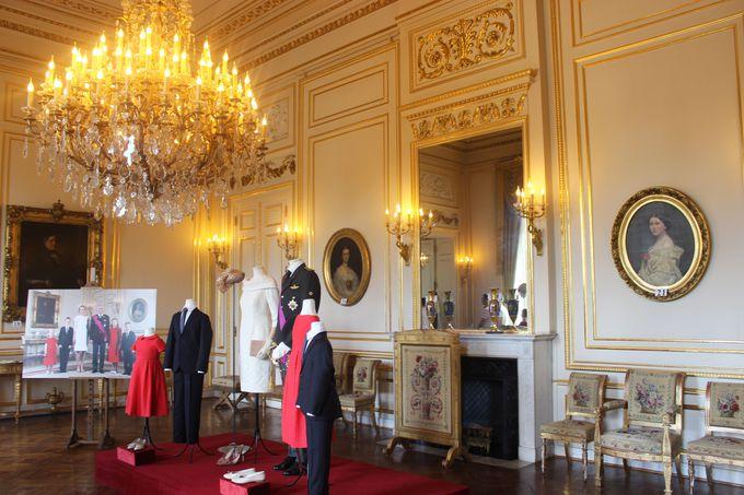 フランス国王からのプレゼント「スモール・ホワイト・ルーム」。