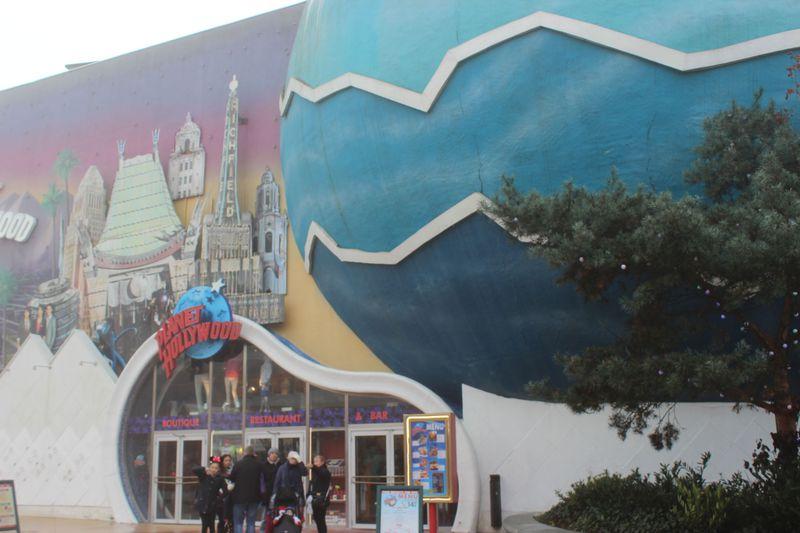 ディズニーランド・パリおすすめ休憩ポイント「プラネット・ハリウッド」