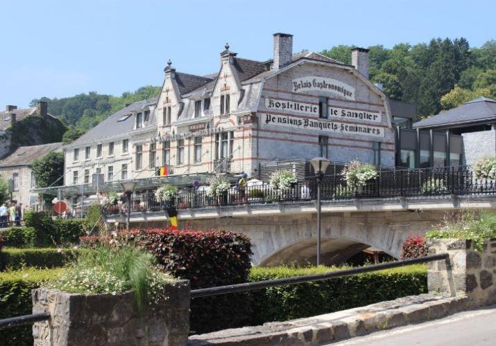 世界のグルメが集う「ホテル・サングリエ・デ・アルデンヌ」