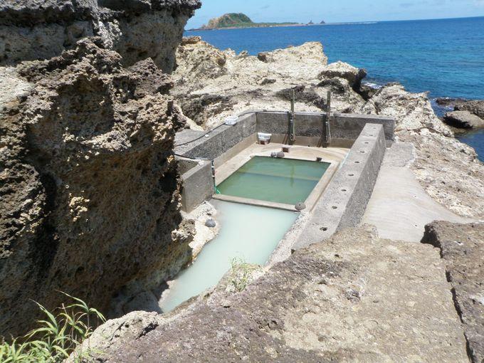 海を見ながらの絶景露天風呂!ダイナミックな秘湯めぐり