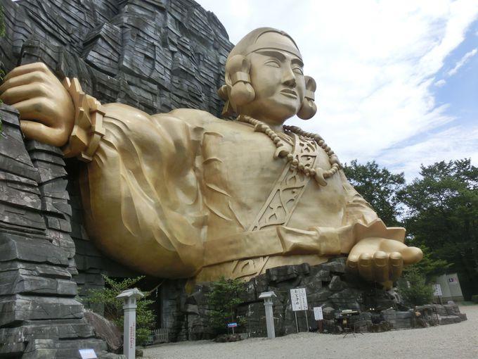 超絶パワースポット!「神命大神宮那須別宮」黄金の巨大神像