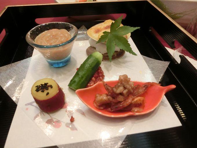 信州の旬の食材を使用したお料理