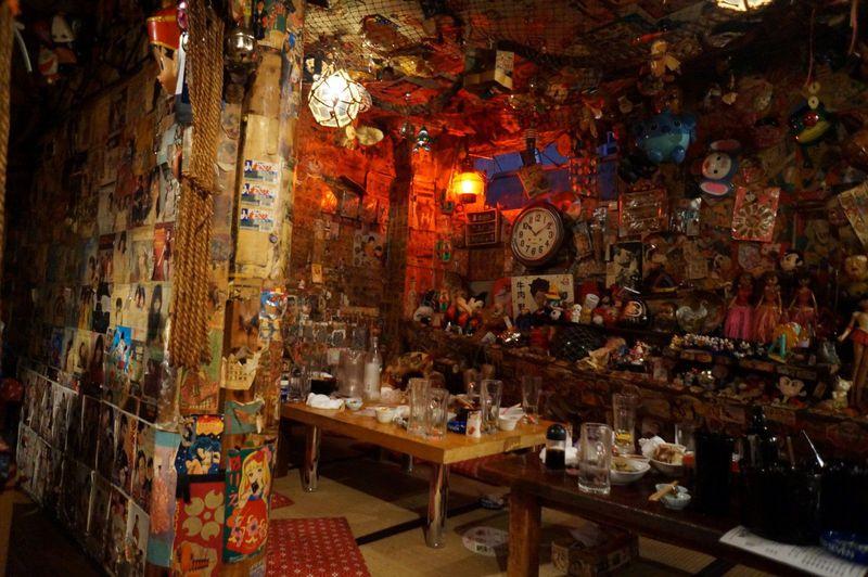 札幌市のデカ盛りレトロ居酒屋とA字ビスケット社長レトロコレクションがすごい!