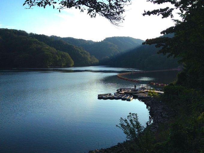 愛知県下最大の人造湖!山あいに美しく佇む「三河湖」へ