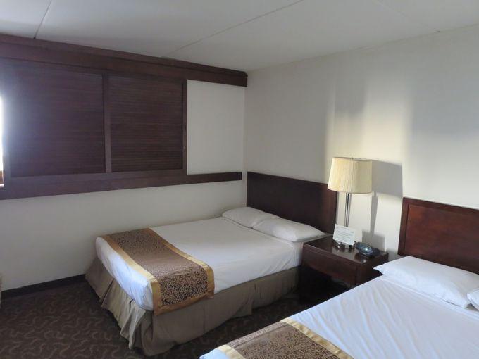 2ベッドルームにリビングルーム、広々スペースが魅力!