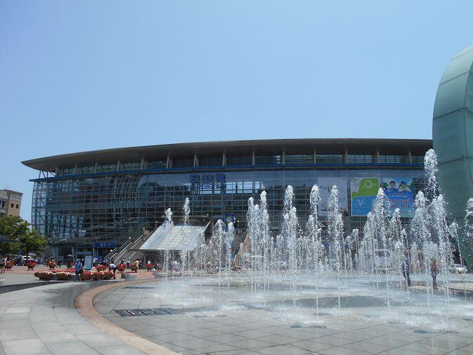 韓国第二の都市、釜山の玄関駅は進化中!
