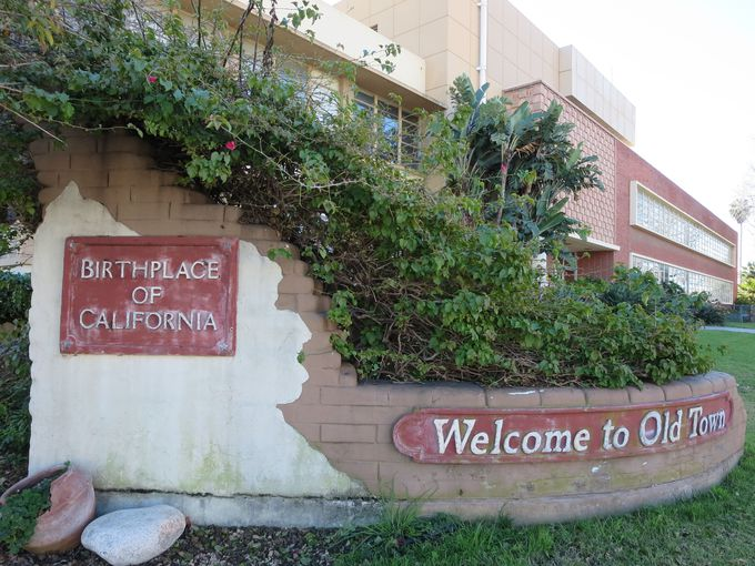 オールドタウンはカリフォルニア発祥の地