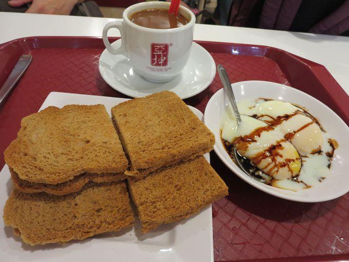 ココア味トーストがカヤジャムにベストマッチ!