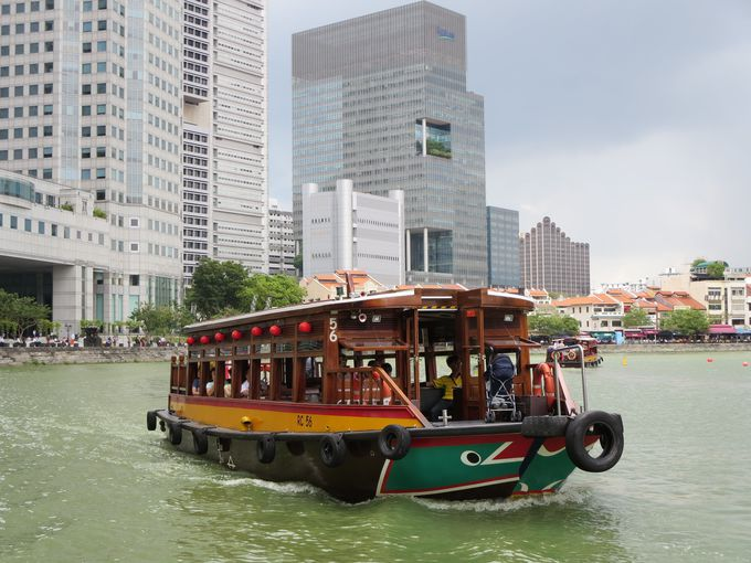 シンガポールの街を水辺から眺めてみよう!