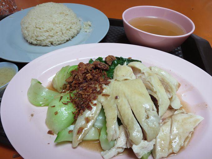 日本のチキンライスにあらず「海南鶏飯(ハイナン・チキンライス)」