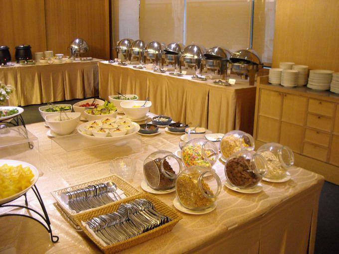 和食もお任せ!朝食ビュッフェがすごい!