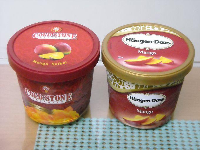 アイス大手もマンゴーで真っ向勝負!