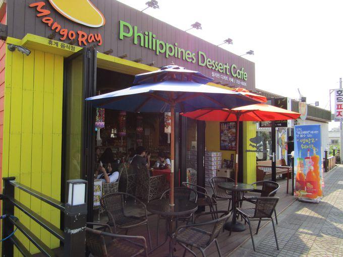 済州島に出現したフィリピン・ボラカイ島をイメージしたカフェ