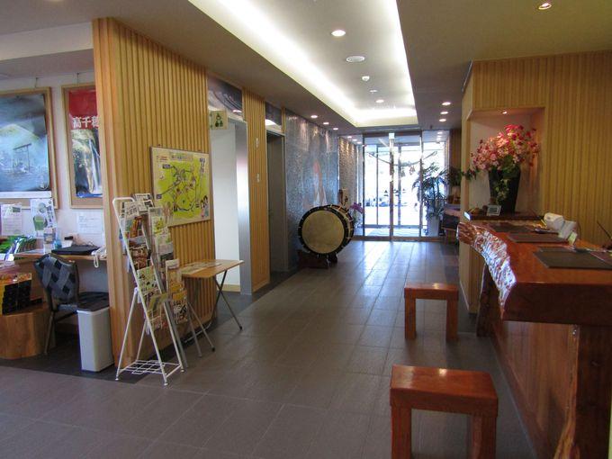 高千穂観光の拠点にはもってこい「ホテル グレイトフル高千穂」