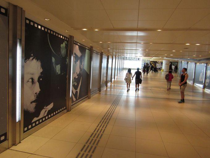 「スターギャラリー(星光影廊)」で香港映画100年の歴史をおさらい