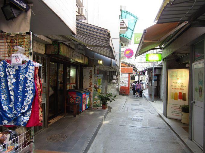 香港なのに欧米チックなリゾート感いっぱいのエリア