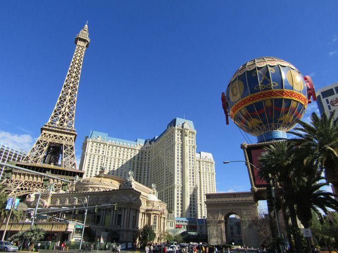 パリを独り占め?ラスベガスにパリが凝縮「パリ・ラスベガス」