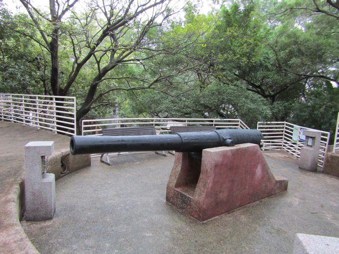 イギリス統治時代の砲台が今に残る西九龍砲台