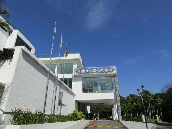 マレーシア・イスラミック美術館にある「ミュージアムレストラン」