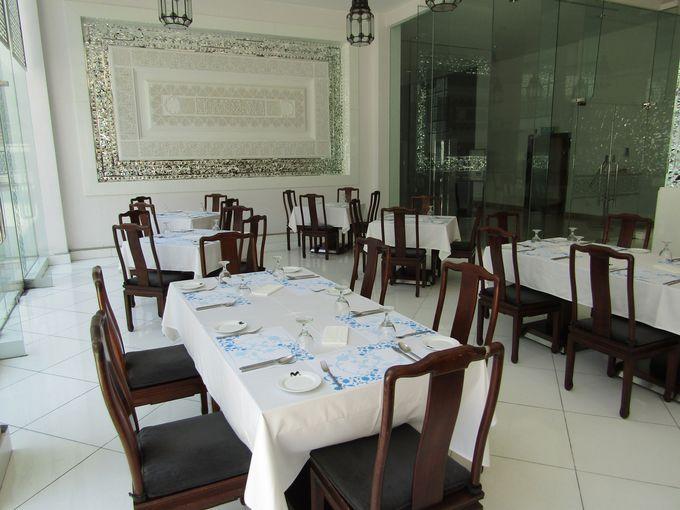 シンプルなデザイン、ぜいたくな空間「ミュージアムレストラン」