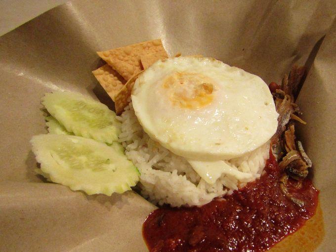 マレーシアの朝食メニュー定番中の定番!「ナシ・レマッ」