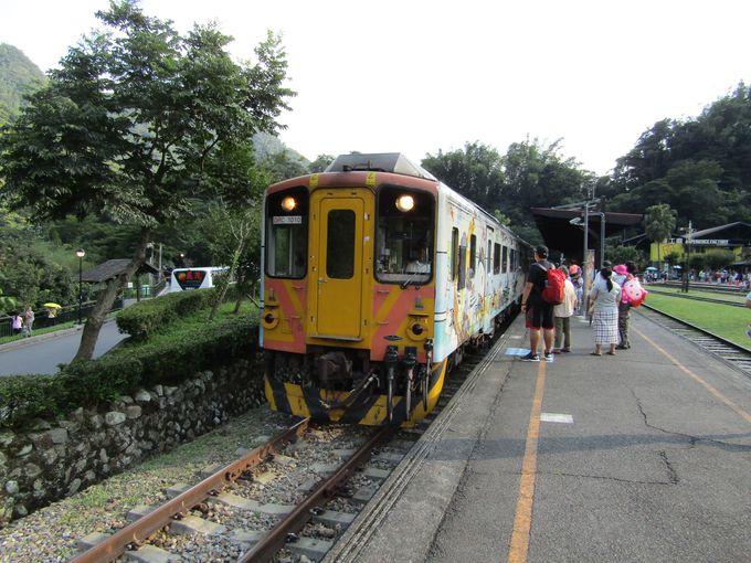 集集線の終点・車程駅は台湾林業の歴史を形にしたテーマパーク