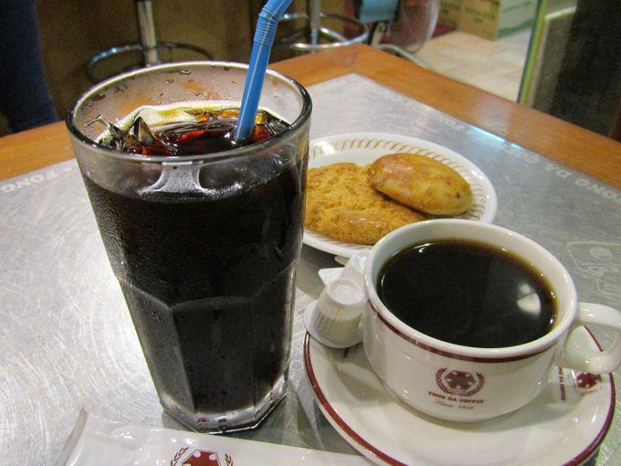 さすがコーヒー専門店、バリエーション豊かなコーヒーがラインナップ