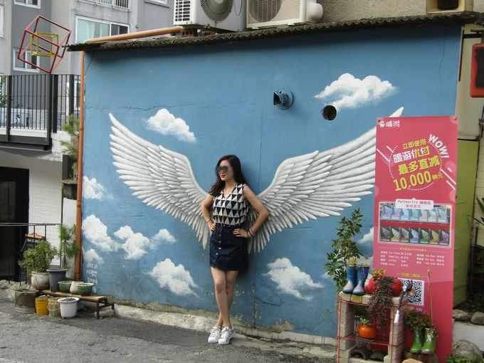 一番人気のスポット!「天使のウィング」