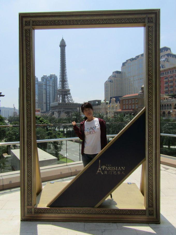パリよりもパリらしい風景画の一部になってみる「ザ・パリジャン・マカオ」