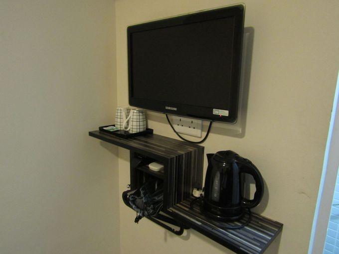 とことんシンプルを突き詰めた機能的な客室