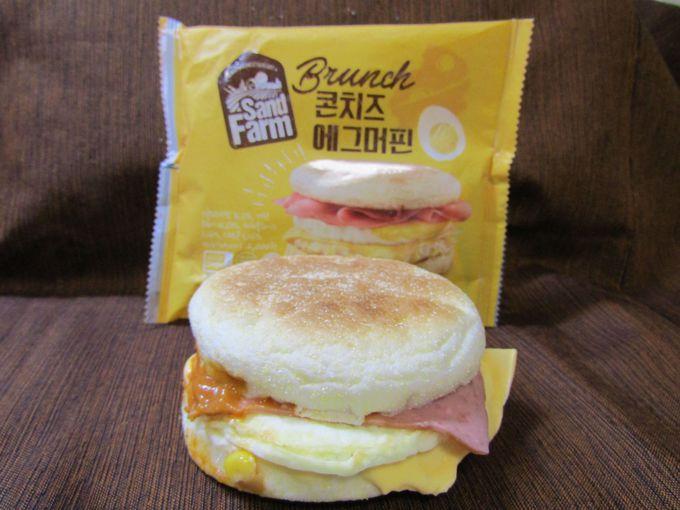 昼食として食べたいガッツリ系「チーズ エッグ マフィン」