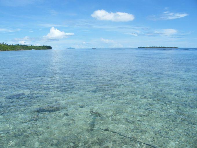 ダイビング、シュノーケリング好きをうならせるレジャースポット、ブナケン島