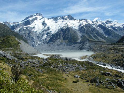 氷河を見る、歩く、飛ぶ!?