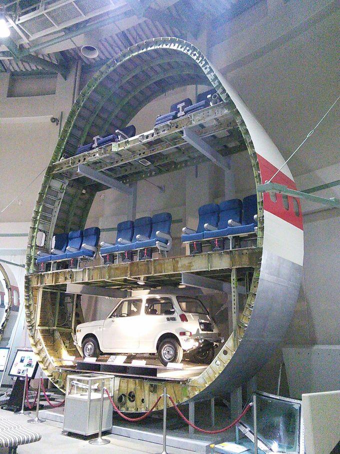 成田空港のすぐ傍!「航空科学博物館」は大空のロマンが満載