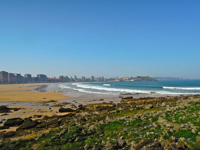 サン・ロレンソビーチを満喫